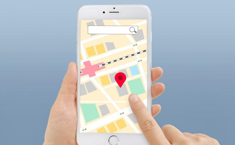 GPSで旦那の居場所を調べる